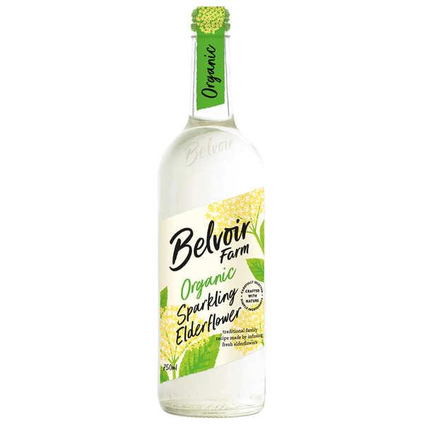 Belvoir Pressé à la fleur de sureau - pétillant bio - Lot de 3 bouteilles verre 75cl