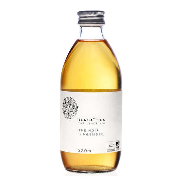 Tensaï Tea Thé glacé bio - thé noir, gingembre - 6 bouteilles de 33cl