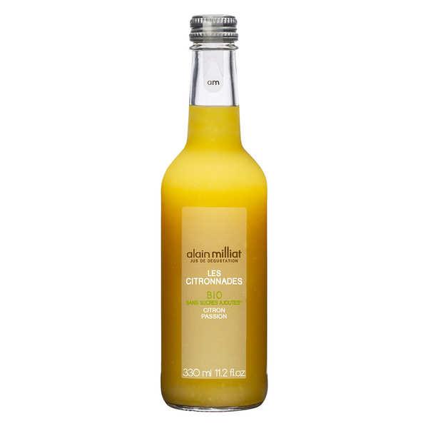 Alain Milliat Citronnade bio citron passion - Alain Milliat - 3 bouteilles de 33cl
