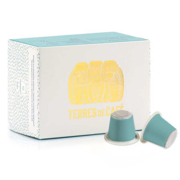 Terres de Café Café Barrista bio - capsules compatibles Nespresso® - Boite de 10 capsules