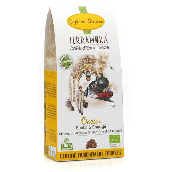 Terra Moka Oscar - café en grains bio d'Ethiopie - sachet 200g