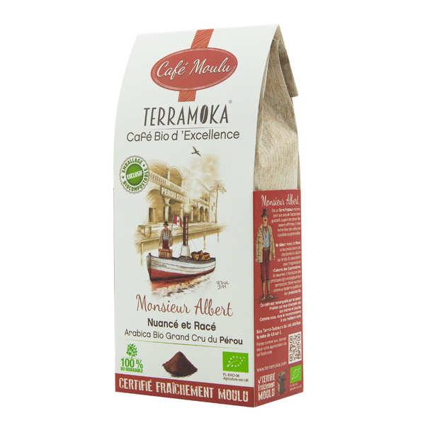 Terra Moka Albert - café bio moulu du Pérou - Sachet 250g