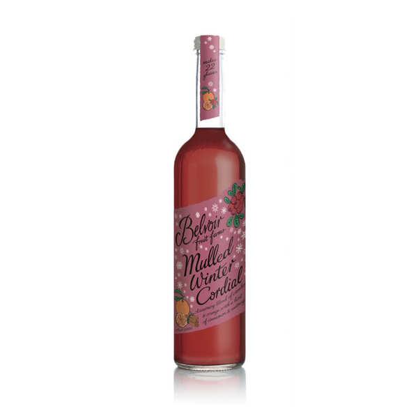 Belvoir Mulled Winter Cordial - Sirop aux épices de Noël - La bouteille de 50cl