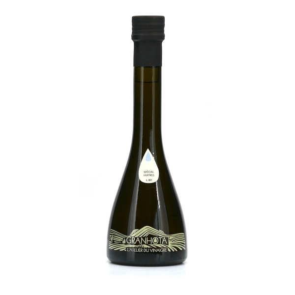 Granhota - L'Atelier du vinaigre Vinaigre de vin français spécial huîtres - Granhota - La bouteille de 250ml