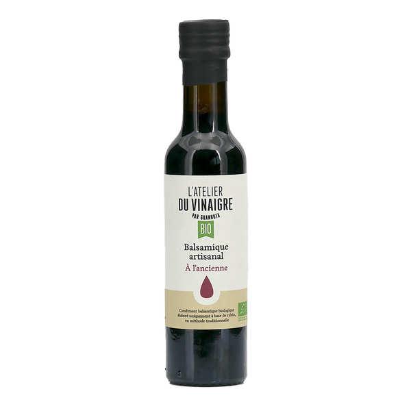Granhota - L'Atelier du vinaigre Vinaigre balsamique bio et artisanal français - L' Atelier du Vinaigre - La bouteille de 250ml