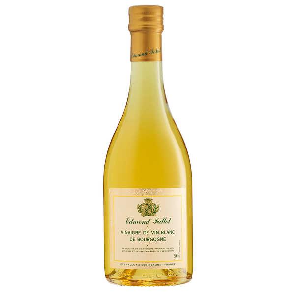 Fallot Vinaigre de vin blanc de Bourgogne - 3 bouteilles en verre de 50cl