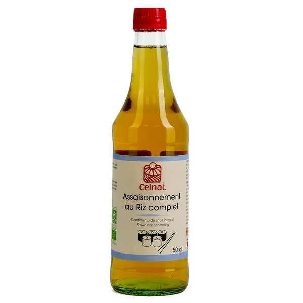 Celnat Vinaigre de riz complet bio - Lot 3 bouteilles 50cl