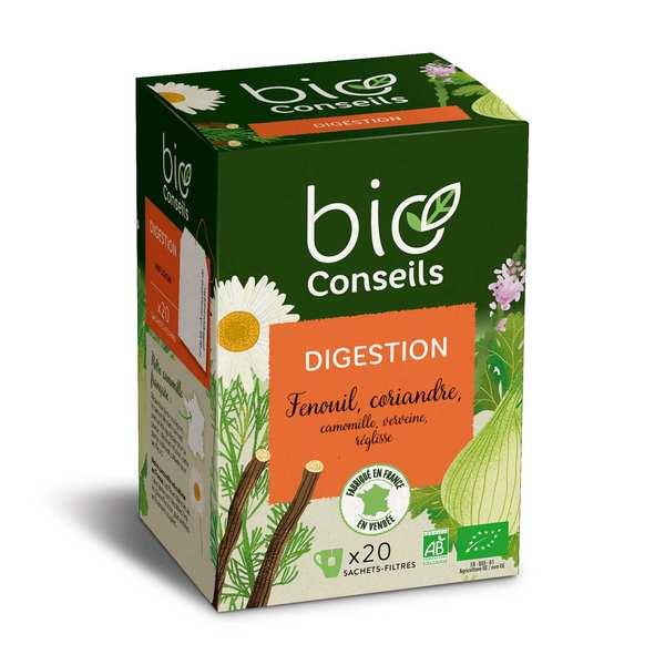 Bio Conseils Infusion digestion Bio - Lot de 3 boîtes 20 sachets