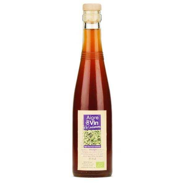 Aigre-doux Sud Cévennes Vinaigre artisanal à la cardamome bio sans sulfite - Bouteille verre 37.5cl