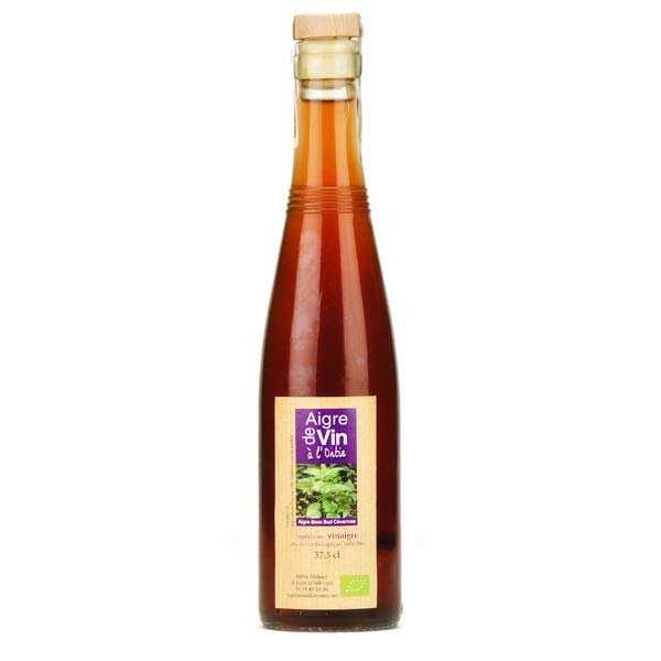 Aigre-doux Sud Cévennes Vinaigre artisanal à l'ortie bio - Bouteille verre 37.5cl