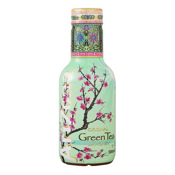 Arizona Iced Tea Arizona au thé vert, ginseng et miel - Bouteille - Lot 6 bouteilles PET 1,5L