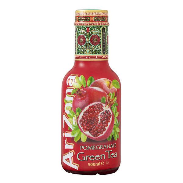 Arizona Iced Tea Arizona au thé vert et à la grenade - Bouteille - Lot 6 bouteilles PET 500ml