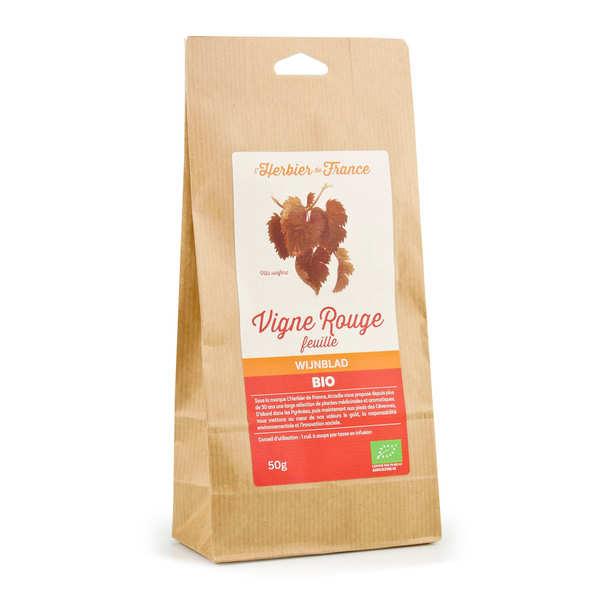 Cook - Herbier de France Infusion vigne rouge bio - Lot de 6 sachets 50g