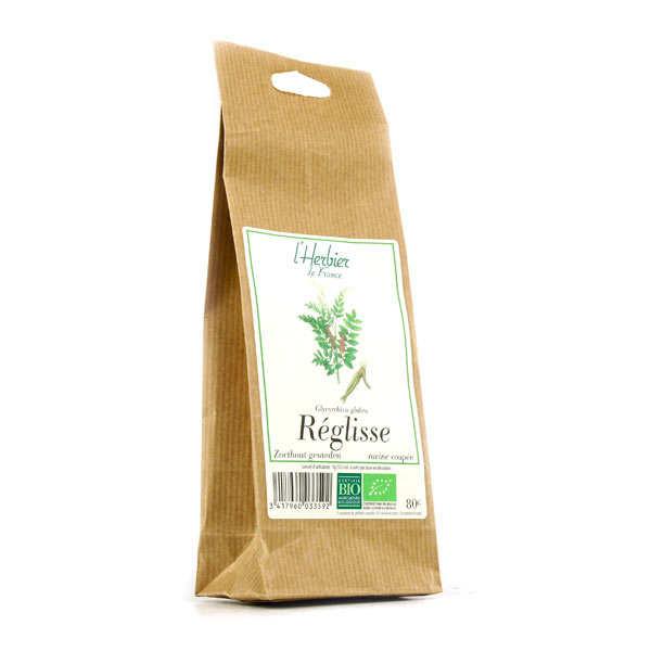 Cook - Herbier de France Racine de réglisse coupée hachée bio - 6 sachets de 80g