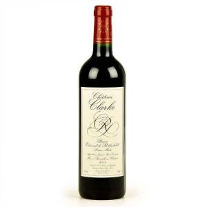Château Clarke Baron Edmond de Rothschild - Vin rouge - 2010 - Bouteille 75cl - Publicité