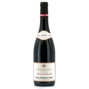 Paul Jaboulet Aîné Côtes du Rhône vin rouge Secret de famille - 2018 - Bouteille de 75cl - Publicité