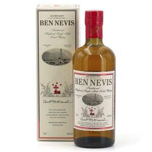 Ben Nevis Whisky Ben Nevis Traditional Malt 46% - Bouteille 70cl en étui - Publicité