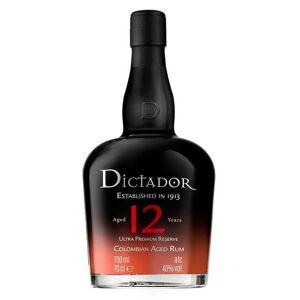 Dictador Rhum Dictador 12 ans 40% - Bouteille 70cl en étui - Publicité