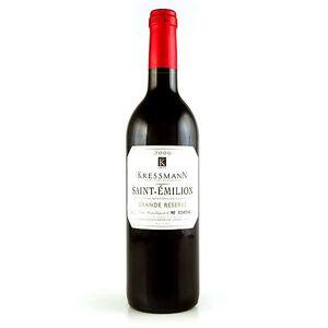 Kressmann Saint-Emilion Grande Réserve vin rouge - Kressmann - 2018 - bouteille 75cl - Publicité