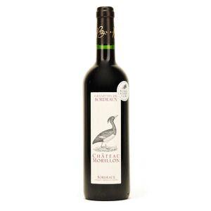 Château Morillon vin rouge Bordeaux bio AOP - 2019 - bouteille de 75cl - Publicité