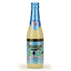 Brasserie Huyghe Delirium Tremens - Bière Blonde Belge - 8.5% - bouteille 33cl - Publicité