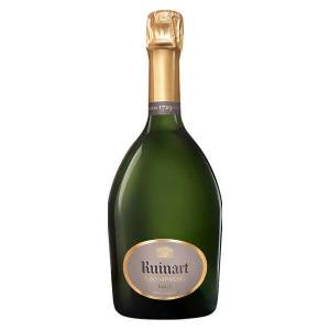 Ruinart Champagne R de Ruinart Brut - Bouteille 75cl en coffret - Publicité