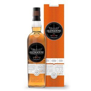 Glengoyne 10 ans d'âge - single highland malt scotch whisky - 40% - Bouteille 70cl en tube métal - Publicité