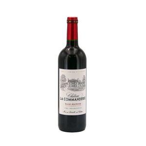 Château la Commanderie - Saint-Estèphe cru bourgeois - Vin rouge - 2015 - Bouteille 75cl