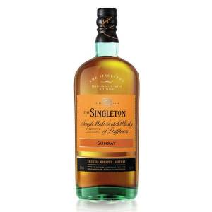 The Singelton The Singleton of Dufftown Sunray whisky 40% - Bouteille 70cl - Publicité