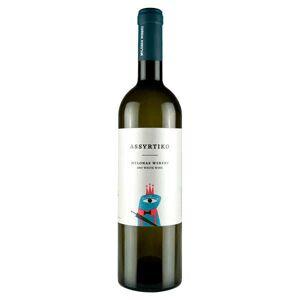 MYLONAS Assyrtiko vin blanc sec de Grèce IGP Attique - Bouteille 75cl - Publicité