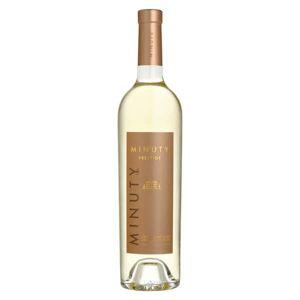 Minuty S.A. Château Minuty cuvée Prestige vin blanc - Côtes de Provence AOC - 2018 - Bouteille de 75cl - Publicité