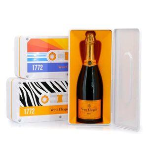 Veuve Clicquot Ponsardin Champagne Veuve Clicquot - Coffret cadeau Tape Standard - Modèle 3 - Mosaïque - Bouteille 75cl en étui - Publicité