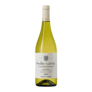 Mas de Daumas Gassac Moulin de Gassac 100% Chardonnay - vin blanc IGP Pays d'Oc - 2019 - Bouteille 75cl - Publicité