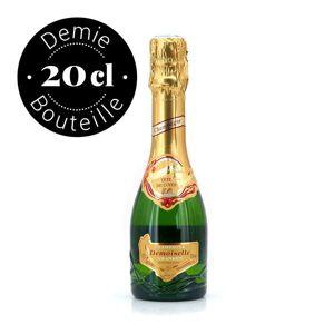 Pommery Champagne Demoiselle Vranken Tête de cuvée 12% - Bouteille 20cl - Bouteille de 20cl - Publicité