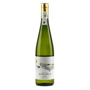 Getariako txakolina Txakoli Getaria - Vin blanc AOP Hondarrabi Zuri - Bouteille de 75cl - Publicité