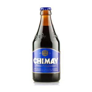 Abbaye ND de Scourmont Chimay Bleue - Bière Belge Trappiste - Brune - 9% - Bouteille 33cl - Publicité