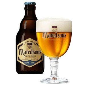 Abbaye de Maredsous Maredsous Triple - Bière d'abbaye Belge - 10% - Lot 6 bouteilles 33cl - Publicité