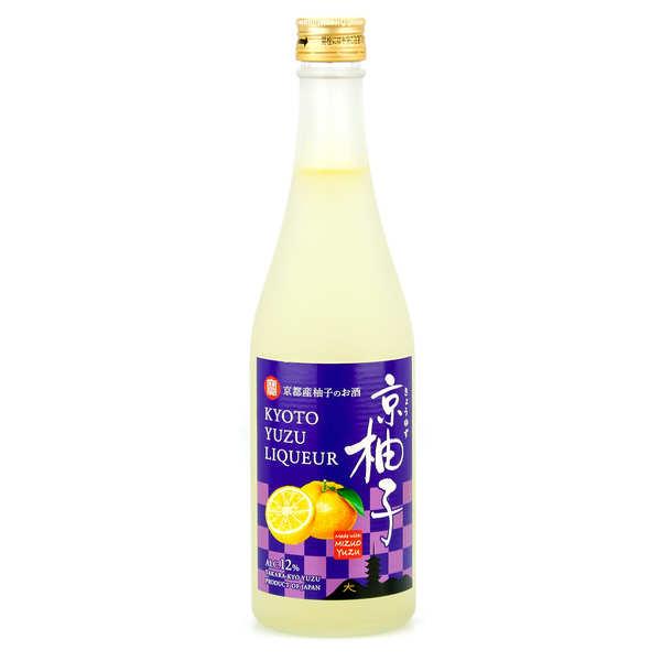 Takara Shuzo Liqueur de Yuzu japonaise, Yuzunokimochi 12% - Bouteille 500ml