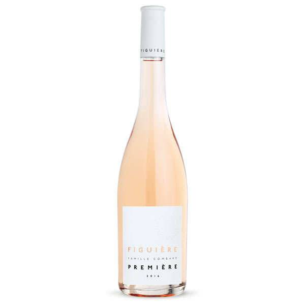 Figuière - Famille Combard Première de Figuière vin Rosé - Côtes de Provence bio - 2019 - Bouteille 75cl