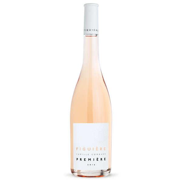 Figuière - Famille Combard Première de Figuière vin Rosé - Côtes de Provence bio - 2019 - Lot 6 bouteilles 75cl