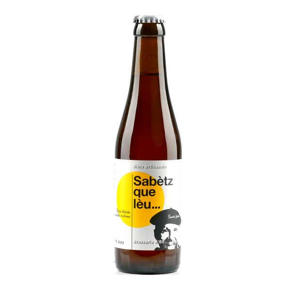 Brasserie d'Olt Bière Sabetz Que Leu de la Brasserie d' Olt - 7% - Lot 24 bouteilles 33cl