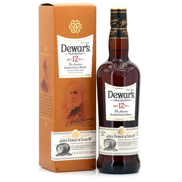Dewar's Whisky Dewar's 12 ans - 40% - Bouteille 70cl dans son étui carton