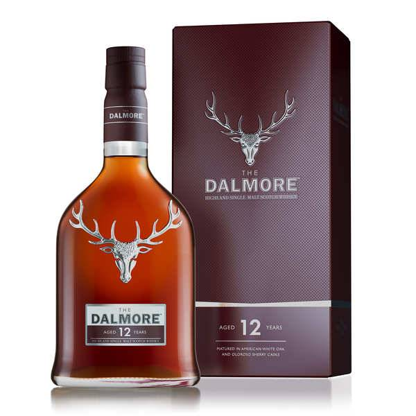 Dalmore 12 ans - single malt whisky - 40% - Bouteille 70cl