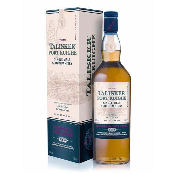 Talisker distillery Whisky Talisker Port Ruighe -  single malt - 45,8% - Bouteille 70cl en étui