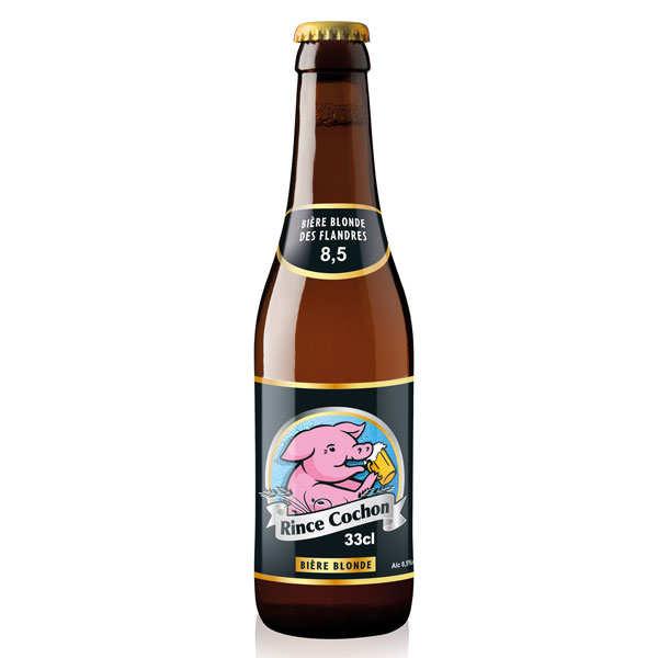 Rince Cochon - Bière belge blonde - 8,5% - Bouteille 33cl