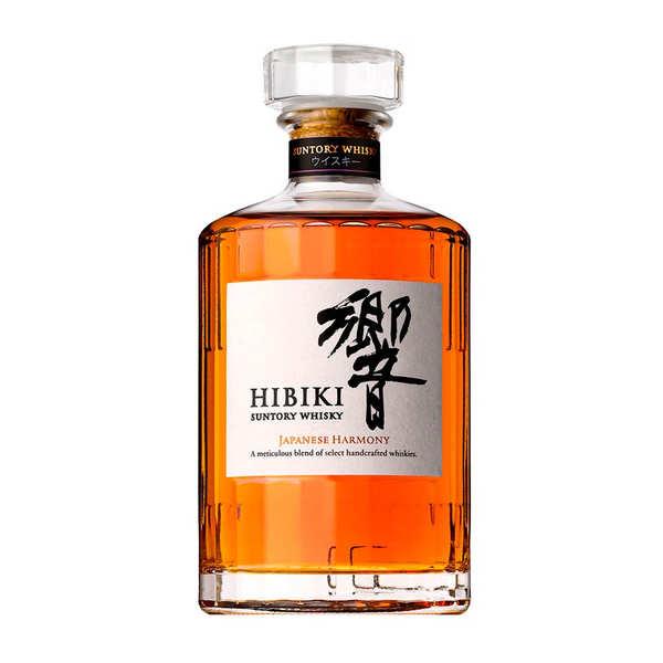 Suntory Hibiki Japanese Harmony whisky japonais 43% - Bouteille 70cl