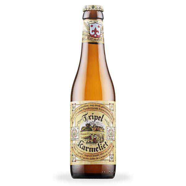 Brasserie Bosteels Triple Karmeliet - bière blonde - 8% - Bouteille 33cl