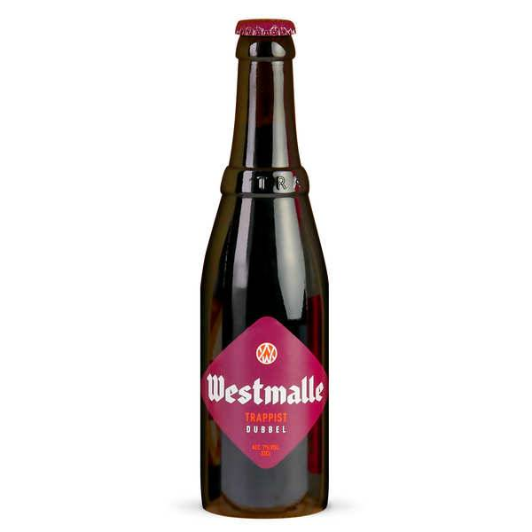 Brasserie Van Westmalle Westmalle Trappist Dubbel - bière belge ambrée - 7% - Lot 24 bouteilles 33cl