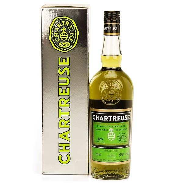 Les caves de la Chartreuse Chartreuse verte 55% - Bouteille 35cl