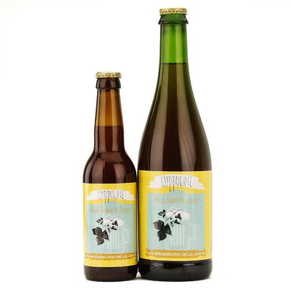 Les brasseurs de la Jonte Bière Lupuline de Lozère - Blonde 5.5% - Lot 3 bouteilles 75cl